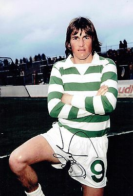Kenny DALGLISH Signed 12x8 Photo AFTAL COA Autograph Glasgow Celtic Legend