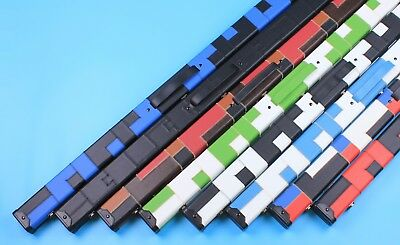 Free P&P 3/4 Pool Cue Case 3/4 PU Leather Snooker Cue Hard Patch Cases