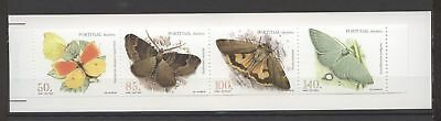 Schmetterlinge - Portugal, Madeira - 1 Markenheft/Booklet ** MNH 1998