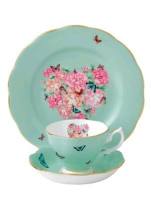 Royal Albert. Blessings 3 piece tea cup. Mothers day gift.