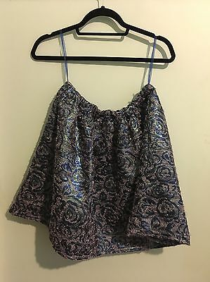 Mossman Blue Sparkley Skirt Size 12