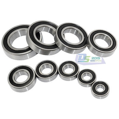 1pc Roller Bearings 6800- 6806 RS Rubber Sealed Deep Groove Ball Bearing
