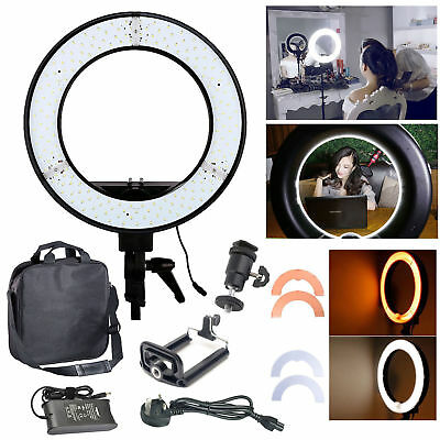"""Studio LED 35W 5500K 12"""" Photo Video Ring Light with Color Fliter + 200cm Stand"""