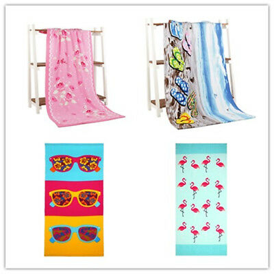 XL Flamingo Large Beach Towels -100% Cotton Multiple Designs Bath Sheet Holiday
