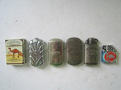 Camel Joe lighters lot of 6 collectible  Vintage all Different