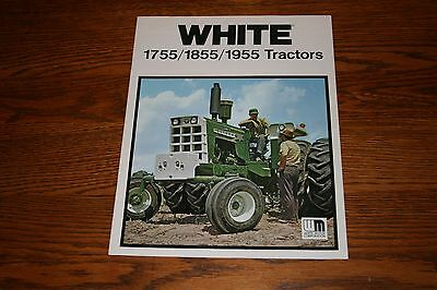 Oliver White 1755 1855 1955 Tractors Advertising Sales Brochure