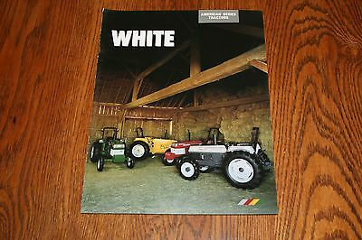 White Tractor American Series Tractors Advertising Sales Brochure