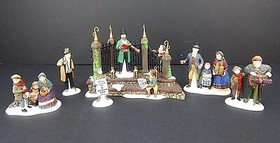 Dept 56 Dickens Village A Christmas Carol Reading by Charles Dickens LE #58404