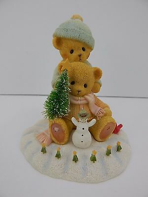 Cherished Teddies Snow Days Are The Best Days Bears playing in Snow #4040470