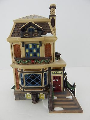 Dept 56 Dickens Village A Christmas Carol Fred Holiwell's House 58492 Never Used