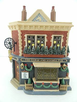 Dept 56 Dickens Village The Horse and Hounds Pub #58340 New