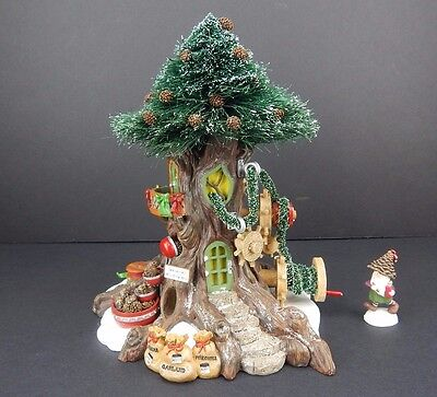 Dept 56 North Pole Woods Trim-A-Tree Factory #56884 D56 NPW Very Good Condition