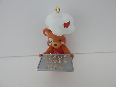 Enesco Dept 56 Ornament Jesus Loves Me Never Displayed