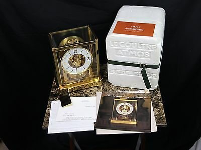 Jaeger LeCoultre Atmos Clock~Model 528-8~Very Clean Works Great *FREE SHIPPING*