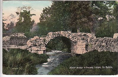 Ireland: Oldest Bridge in Ireland, Lucan; Dublin-Kincardine O'Neil, 31 Oct 1908