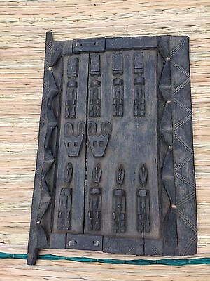 Small Genuine Dogon Door with figures from Mali