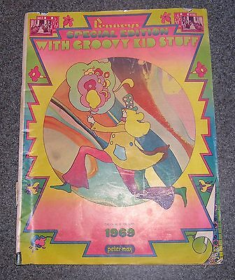 RARE PETER MAX ART:  1969 Penneys Special Edition with Groovy Kids Stuff