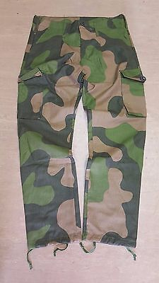 New Norwegian Army M98 Ripstop Woodland Camo Combat Trousers Various Sizes