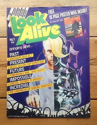 RARE - LOOK ALIVE Magazine ISSUE 1 - 18th Sept 1982