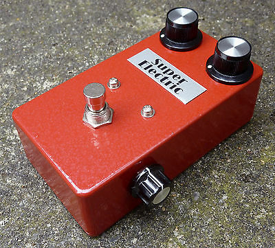 Super Electric Blooming Rose - Guitar Germanium Fuzz Pedal Face Vintage
