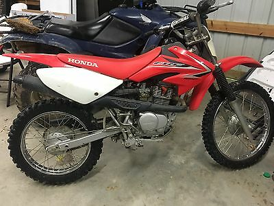 2009 Honda XR  09 Honda Dirt Bike