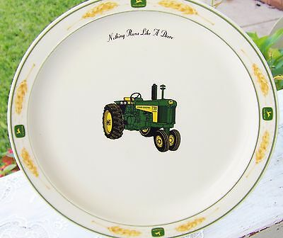 "John Deere Dinnerware Plate 11"" Excellent Condition Bright  Colors"