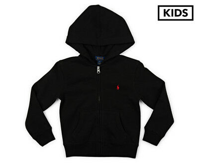 Polo Ralph Lauren Kids' Zip Thru Hoodie - Black