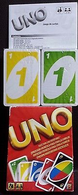 UNO Card Game Playing Cards