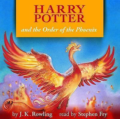 Harry Potter and the Order of the Phoenix by J. K. Rowling (CD-Audio, 2010)