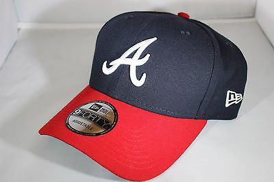 New Era The League 9Forty Atlanta Braves Strapback Baseball Cap -Navy(BNWT)