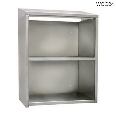 "Glastender - WCO96 - 96"" Open Front Wall Cabinet"
