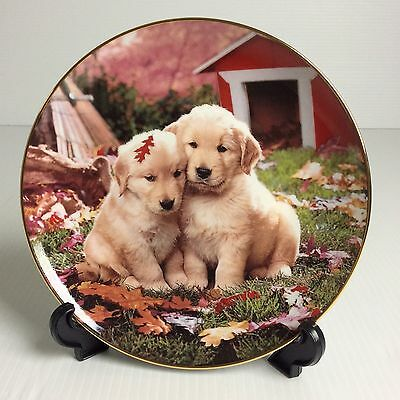 Franklin Mint Royal Doulton Collector Plate : FALL IN LOVE Collection Plate LE
