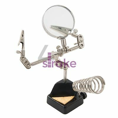 3X Magnifying Glass With 60mm Dia Lens For Electronics, Crafts & Model-Making