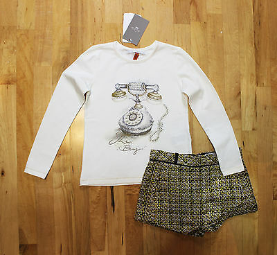NWT Mayoral Girls' Bling Top and Tweed Skort Set ~ Size 8