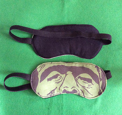 Frankensteins Monster Inspired Illustrated Sleep masks/ Eye Mask/ Travel Masks.