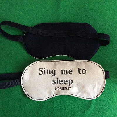 Sing Me To Sleep Morrissey Lyrics Inspired Illustrated Sleep masks. The Smiths