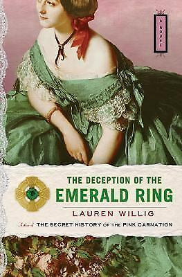 The Deception of the Emerald Ring by Lauren Willig (2006, Hardcover)