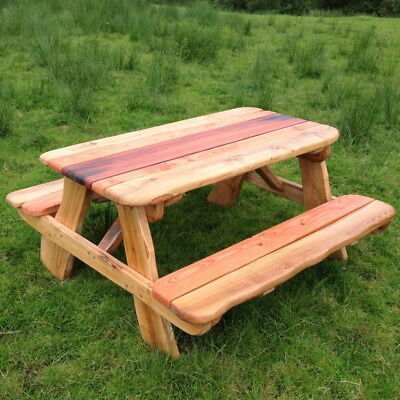 OAK PICNIC TABLE ❤ 8 SEAT WOODEN PUB GARDEN BENCH, perfect summer furniture