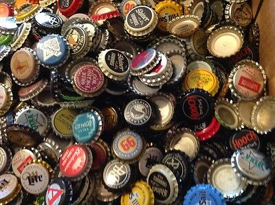 50 assorted BEER BOTTLE CAPS unused Micro brew brewing brewery bottling