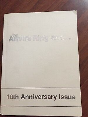 The Anvil's Ring 10th Anniversary Issue Patternbook for Artsmiths Spg 1983 11.1