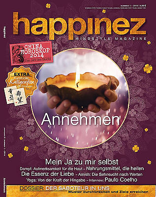 happinez nr 7 2016 mindstyle magazin zeitschrift achtsamkeit yoga eur 1 99 picclick de. Black Bedroom Furniture Sets. Home Design Ideas