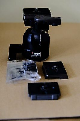 Manfrotto 486RC2 Tripod Head with extra QR plates