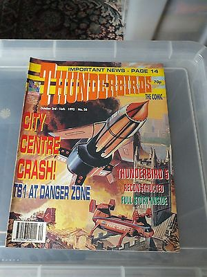 THUNDERBIRDS The Comic - Issue No 26 1992 - N. MINT CONDITION GERRY ANDERSON