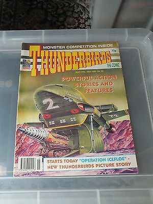THUNDERBIRDS The Comic - Issue No 40 1993 -  MINT CONDITION GERRY ANDERSON