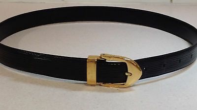 Authentic Louis Vuitton Epi Leather Belt Black