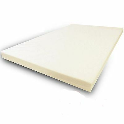 "New 3"" Mattress Orthopaedic Memory Foam Toppers All Sizes & Depth 7.5CM"