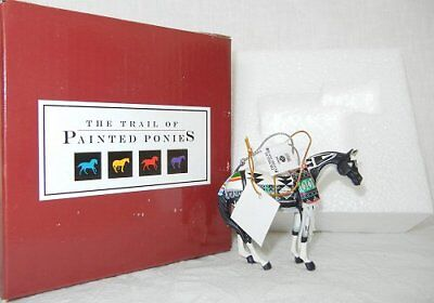 """Tewa Horse ORNAMENT 2.5"""" Tall 2006 RETIRED Trail of Painted Ponies Christmas"""