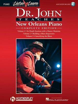 Dr. John Teaches New Orleans Piano Complete Edition - Listen and Learn 000220801
