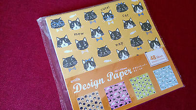 Origami Papier Cats & Dogs 48 Sheets