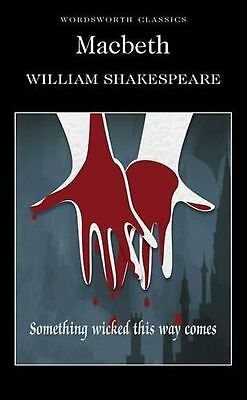 Macbeth Wordsworth Classics Book New William Shakespeare